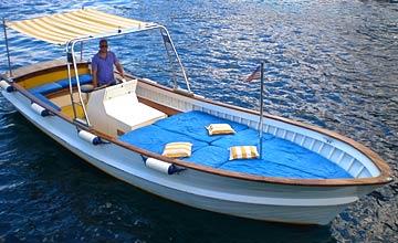 Quanto costa un giro in barca a capri for Barca lancia vetroresina